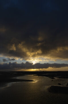 Zonsopkomst Natuurgebied de Kwade hoek door Nico van Kappel